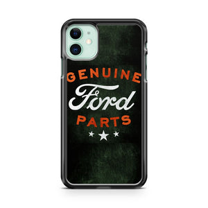 Genuine Ford Parts Distressed Ford Mustang Truck Logo iPhone 11 Case Cover