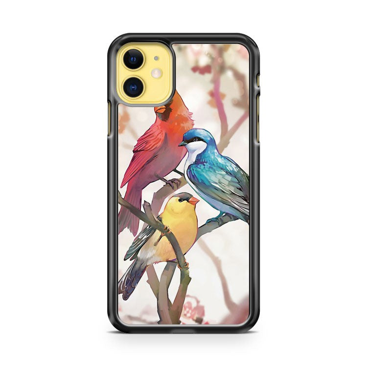 3 Birds Art iPhone 11 Case Cover | Overkill Inc.