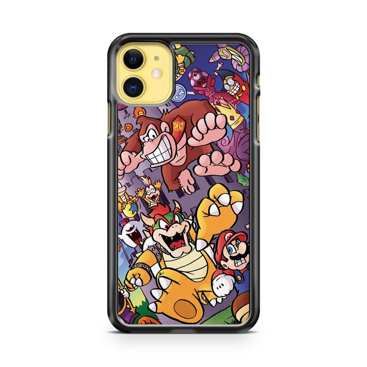 21 Years Of Bosses Mario iPhone 11 Case Cover | Overkill Inc.