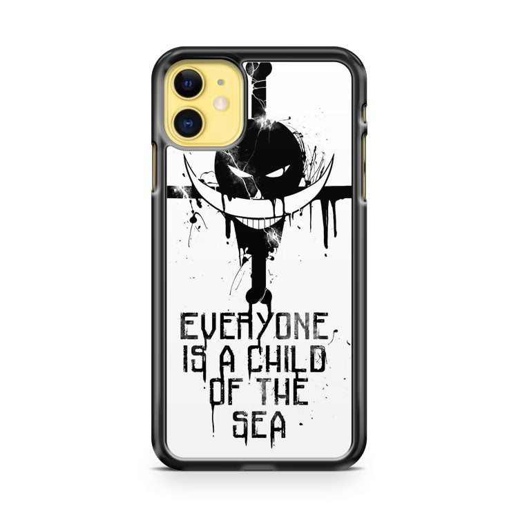 A Child Of The Sea Black iPhone 11 Case Cover | Overkill Inc.