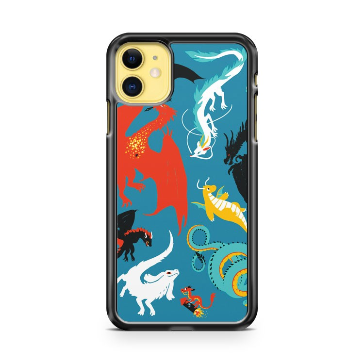 A Flight With Dragons iPhone 11 Case Cover | Overkill Inc.