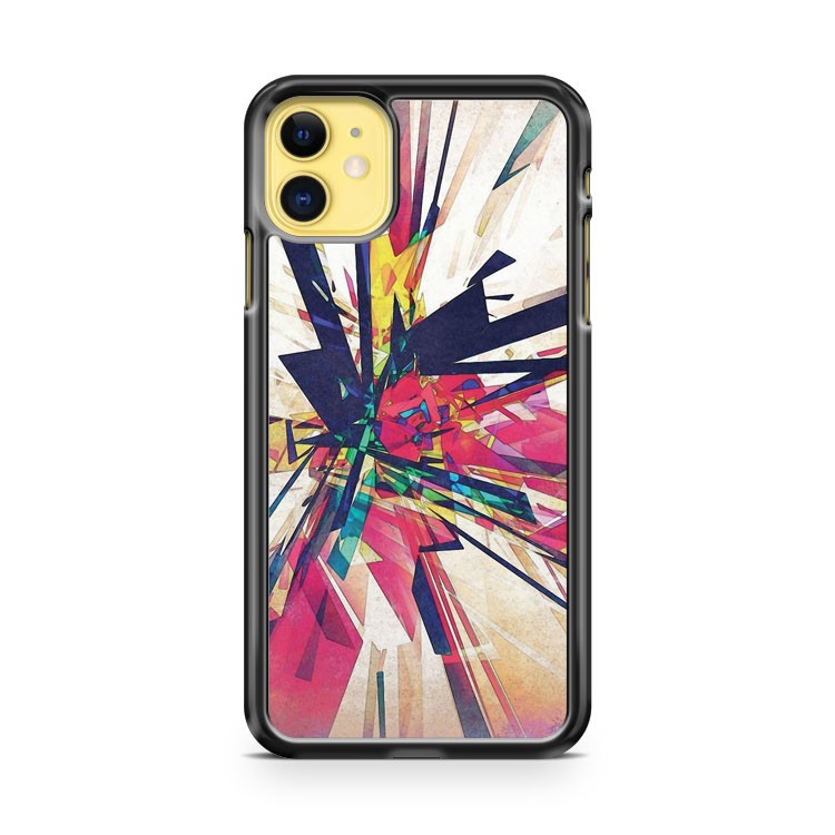 Abstract Geometry iPhone 11 Case Cover | Overkill Inc.