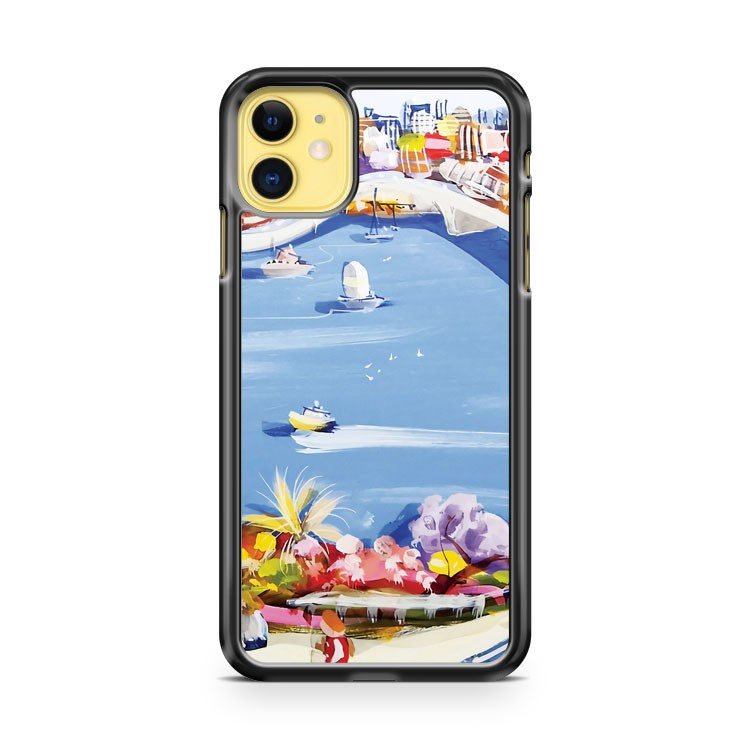 Across The Blue iPhone 11 Case Cover | Overkill Inc.