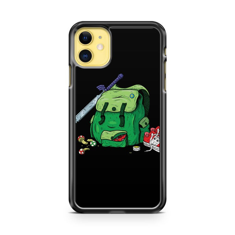 Adventure Pack Black iPhone 11 Case Cover | Overkill Inc.