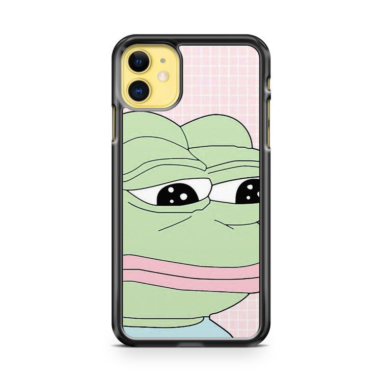 Aesthetic Pepe iPhone 11 Case Cover | Overkill Inc.