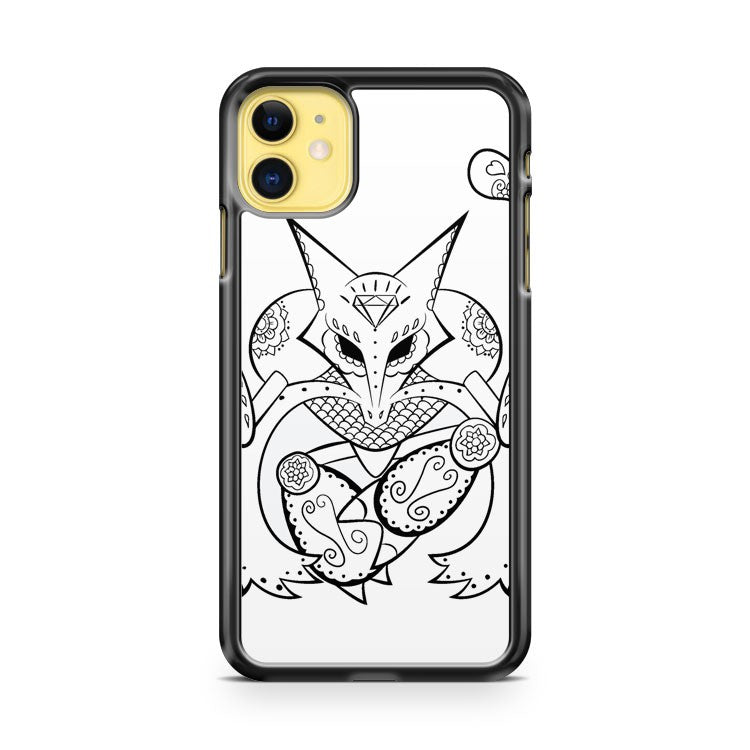 Alakazam De Los Muertos Pokemon And Day Of The Dead Mashup iPhone 11 Case Cover | Overkill Inc.