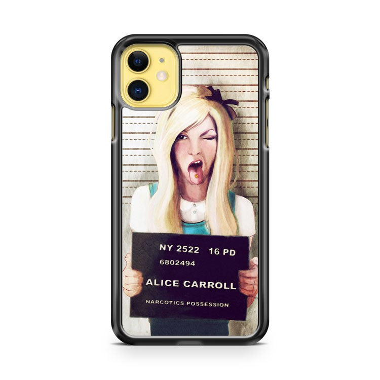 Alice Mugshot iPhone 11 Case Cover | Overkill Inc.