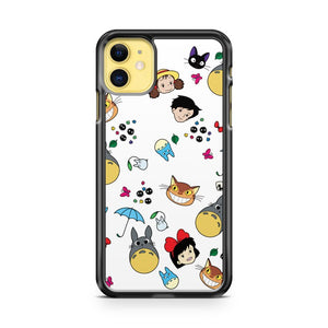 All My Neighbors Totoro Doodle iPhone 11 Case Cover | Overkill Inc.