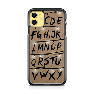 Alphabet Stranger Things iPhone 11 Case Cover | Overkill Inc.