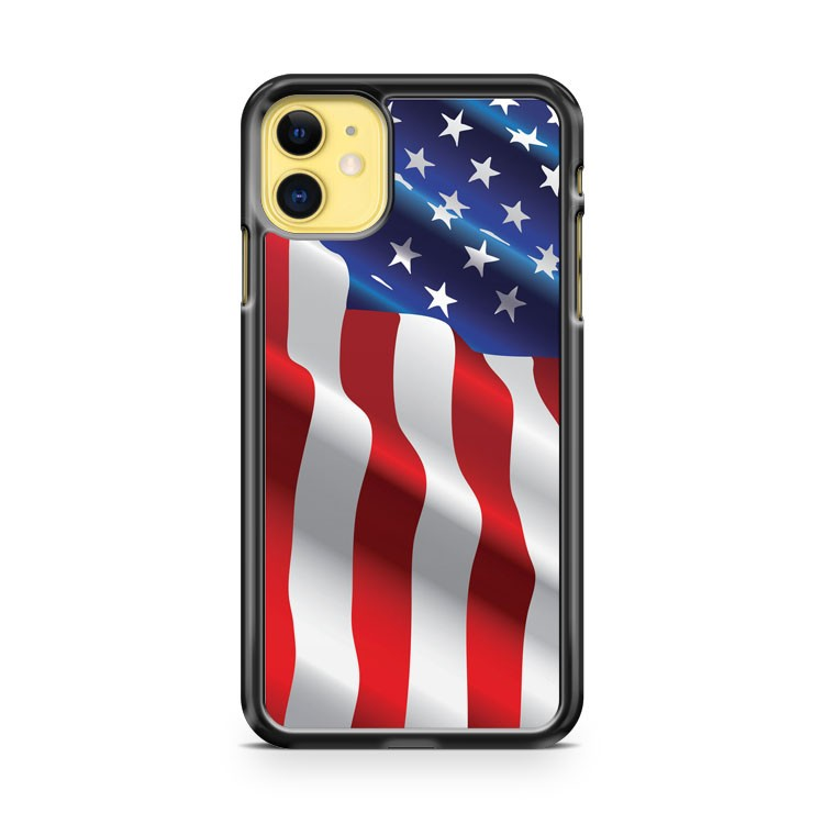 American Flag Flying iPhone 11 Case Cover | Overkill Inc.