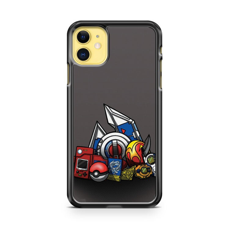 Anime Monsters iPhone 11 Case Cover | Overkill Inc.