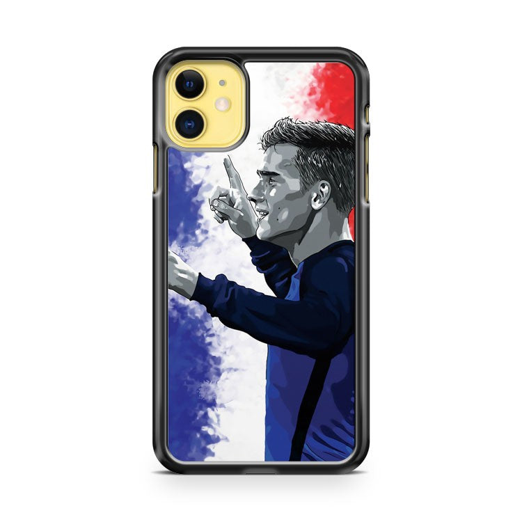 Antoine Griezmann France iPhone 11 Case Cover | Overkill Inc.