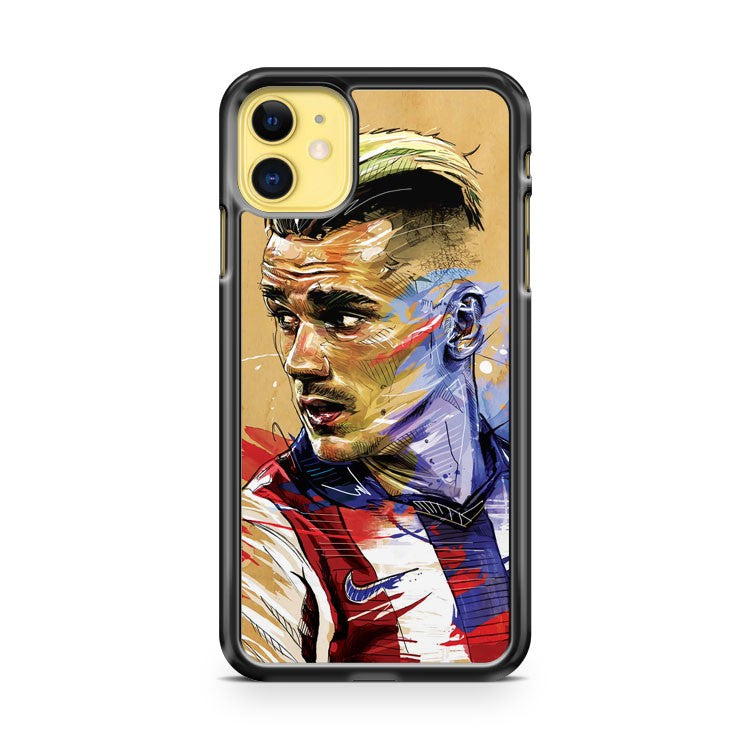 Antoine Griezmann iPhone 11 Case Cover | Overkill Inc.