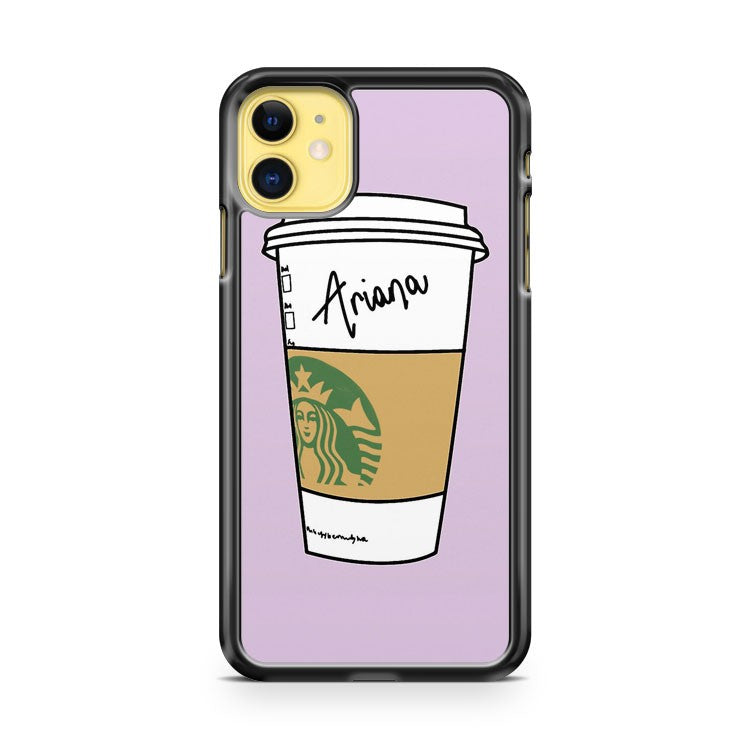 Ariana Starbucks iPhone 11 Case Cover | Overkill Inc.