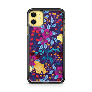 Artistic Floral iPhone 11 Case Cover | Overkill Inc.
