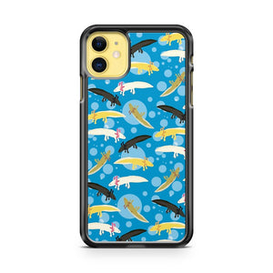 Axolotl Pattern iPhone 11 Case Cover | Overkill Inc.