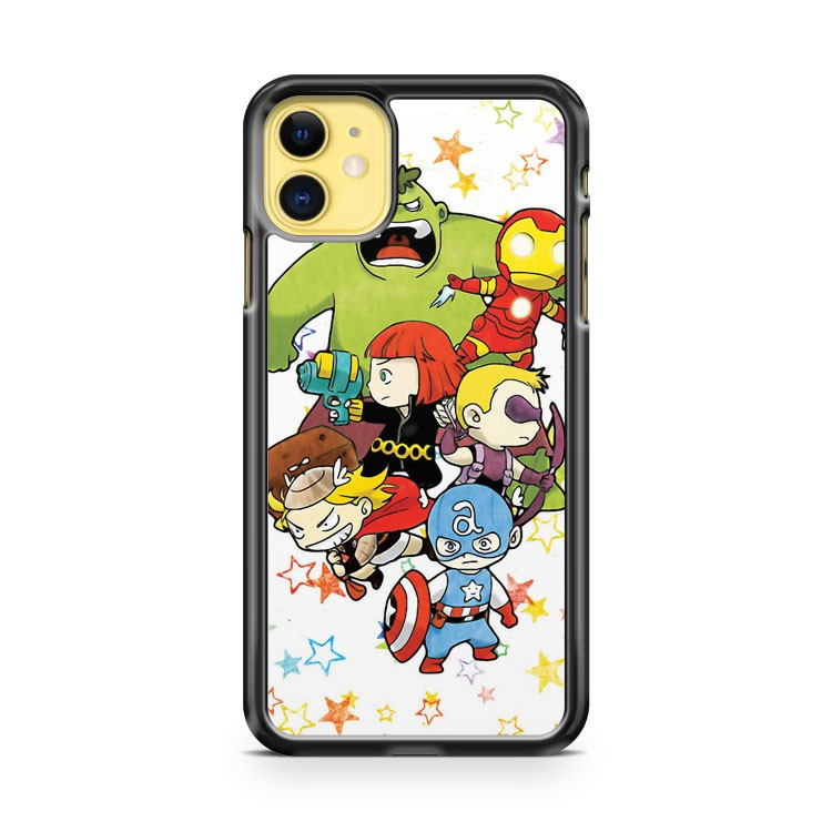 Baby Avengers iPhone 11 Case Cover | Overkill Inc.
