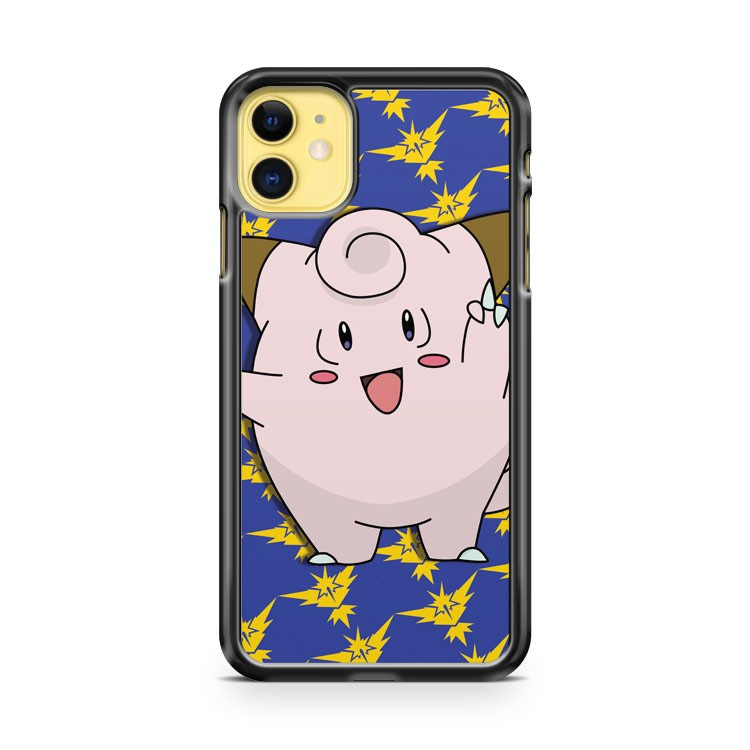 Clefairy Team Instinct iPhone 11 Case Cover | Overkill Inc.