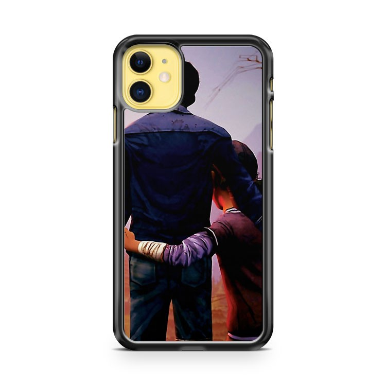 Clementine And Lee The Walking Dead Game iPhone 11 Case Cover | Overkill Inc.