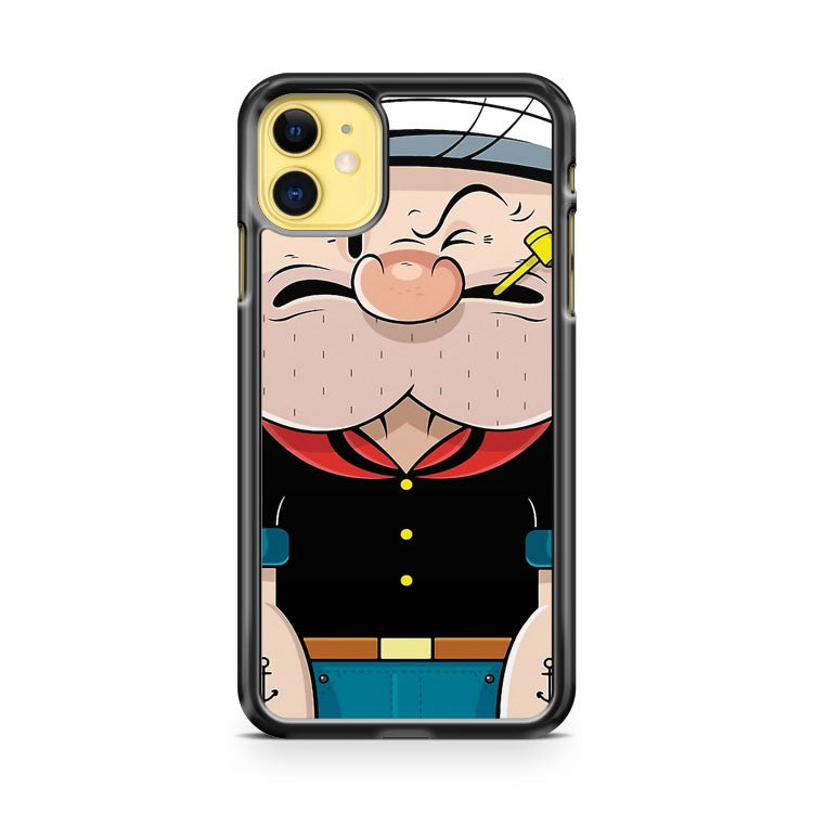Compressed Popeye iPhone 11 Case Cover | Overkill Inc.