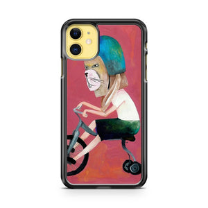 Conejo En Bicicleta 2006 iPhone 11 Case Cover | Overkill Inc.
