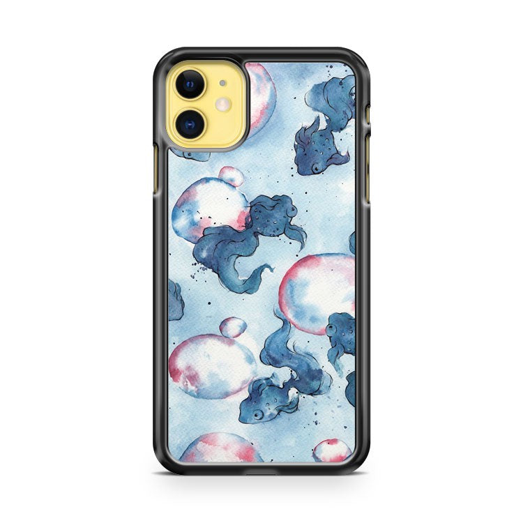 Cool Bubbles Pattern iPhone 11 Case Cover | Overkill Inc.
