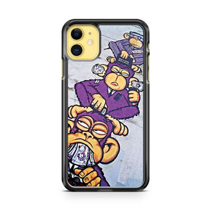 Corporate Greed See No Evil Hear No Evil Speak No Evil iPhone 11 Case Cover | Overkill Inc.