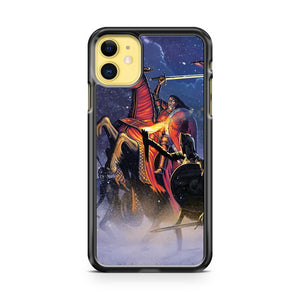 Count Vlad The Blood Knight iPhone 11 Case Cover | Overkill Inc.