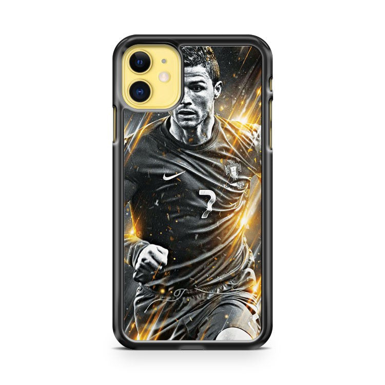Cristiano Ronaldo 3 iPhone 11 Case Cover | Overkill Inc.