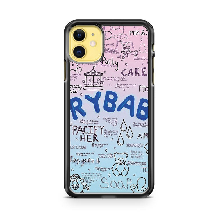 Cry Baby Original Drawing iPhone 11 Case Cover | Overkill Inc.