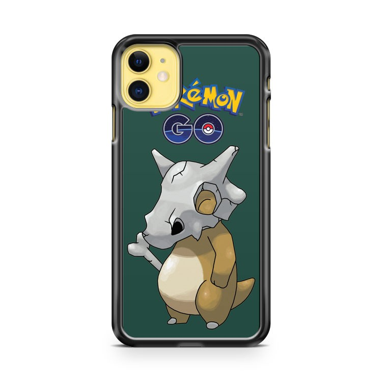 Cubone Pokemon Go iPhone 11 Case Cover | Overkill Inc.