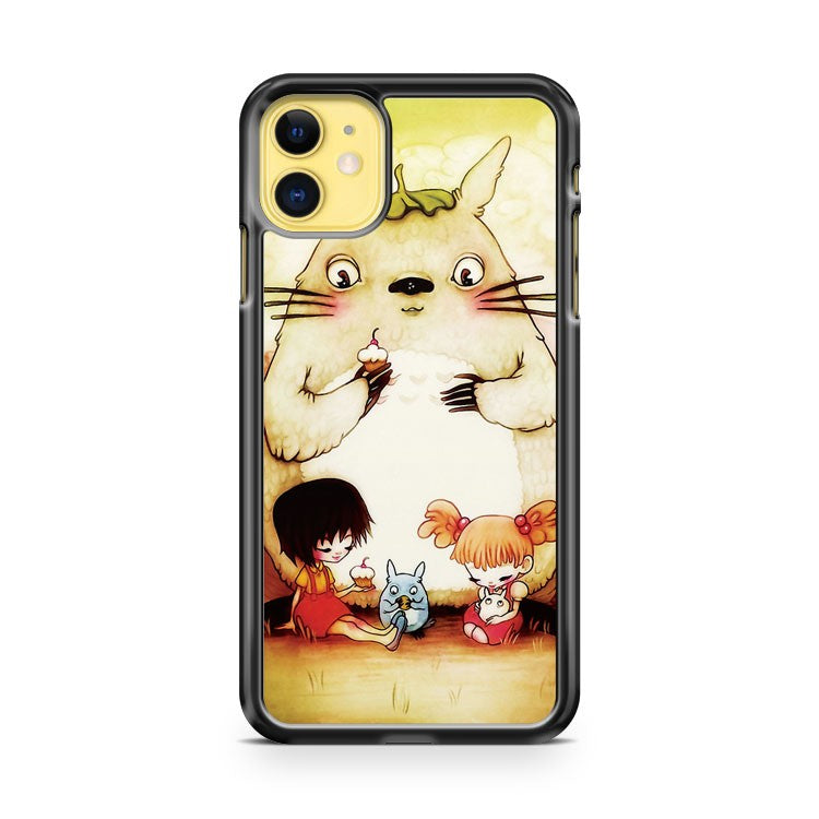 Cupcakes Totoro iPhone 11 Case Cover | Overkill Inc.