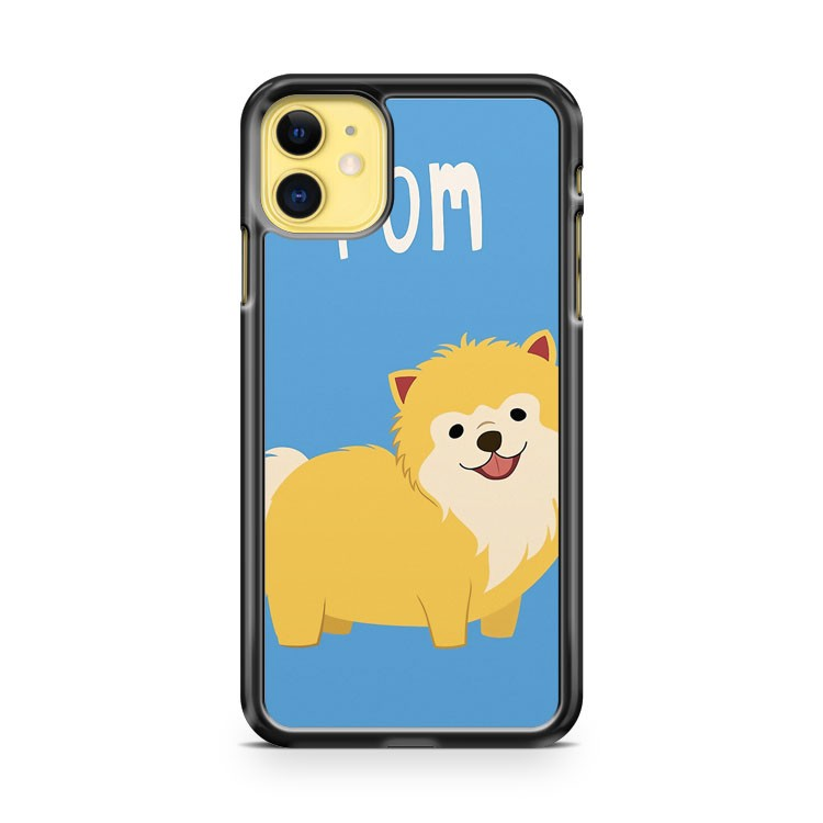Cute Pomeranian iPhone 11 Case Cover | Overkill Inc.