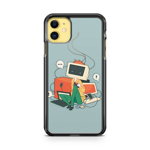 Cyber Kid iPhone 11 Case Cover | Overkill Inc.