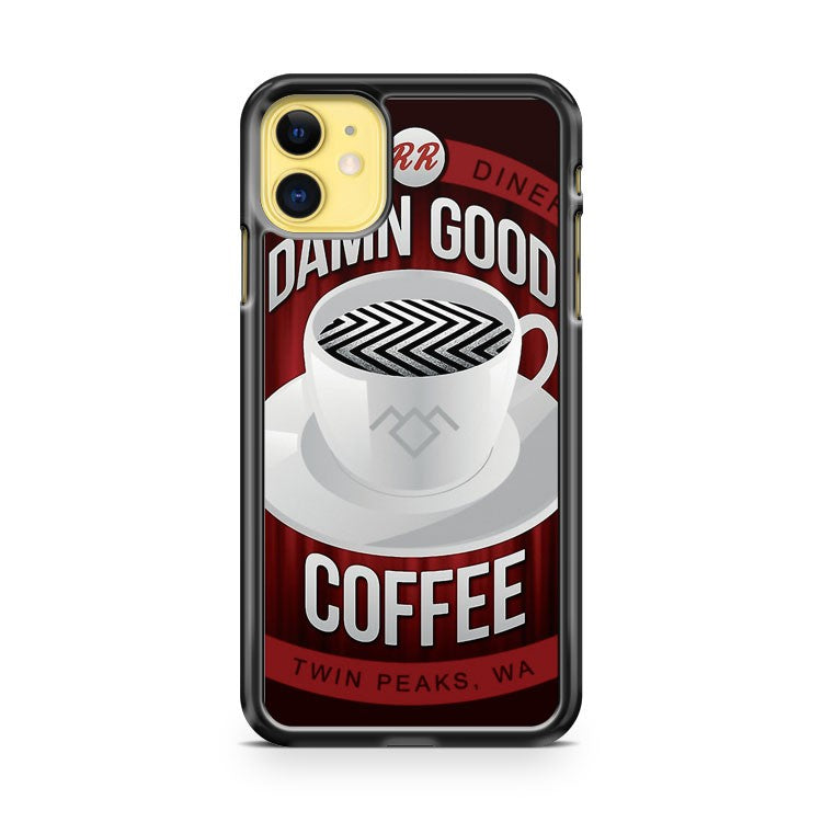 Damn Good Coffee iPhone 11 Case Cover | Overkill Inc.