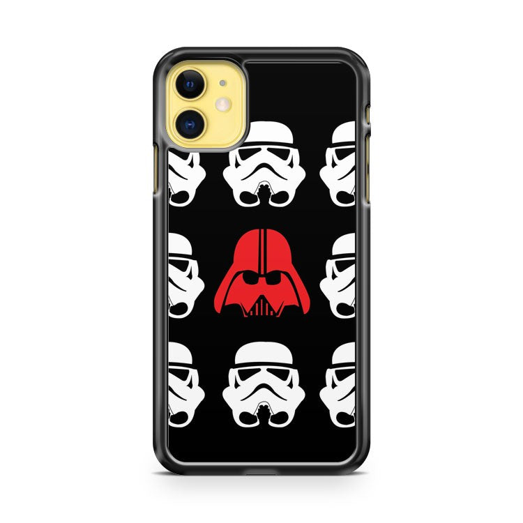 Darth Vader Between Stormtroopers iPhone 11 Case Cover | Overkill Inc.