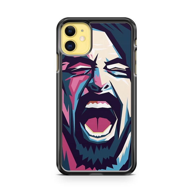 Dave Grohl Foo Fighters Rock Music iPhone 11 Case Cover | Overkill Inc.