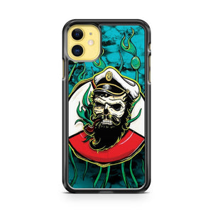 Davy Jones Turquoise iPhone 11 Case Cover | Overkill Inc.