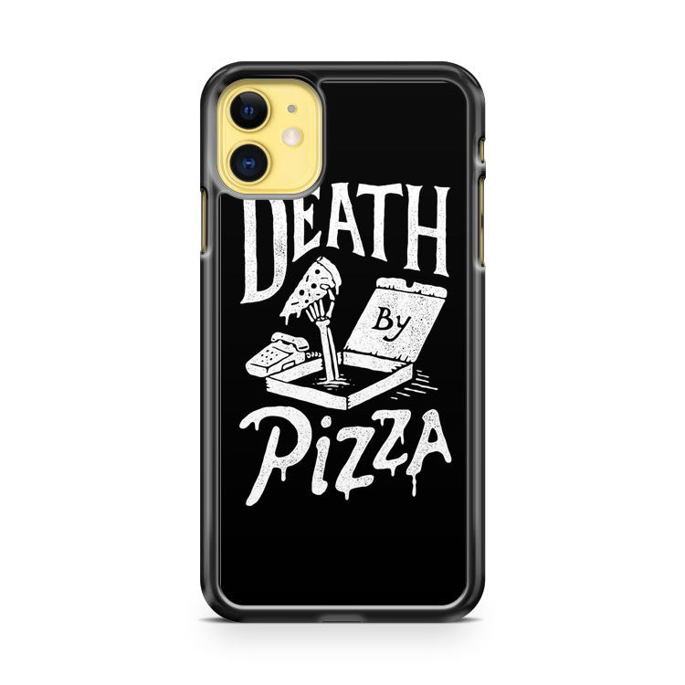 Death By Pizza iPhone 11 Case Cover | Overkill Inc.