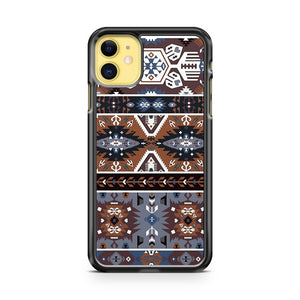 Decorative Noir Pattern In Tribal Style iPhone 11 Case Cover | Overkill Inc.