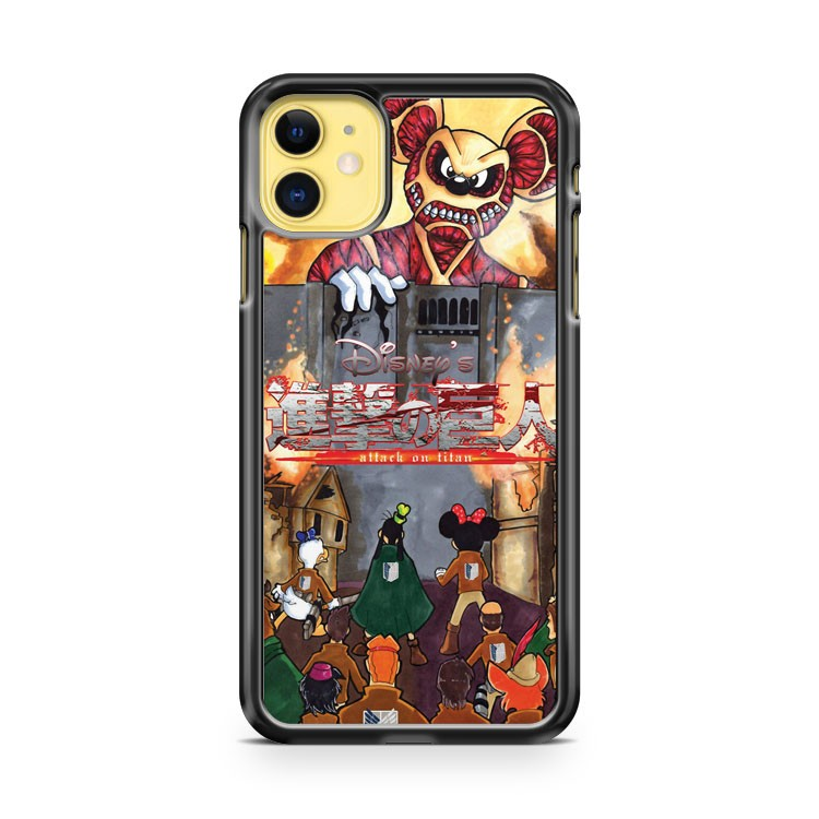 Disney Attack On Titan iPhone 11 Case Cover