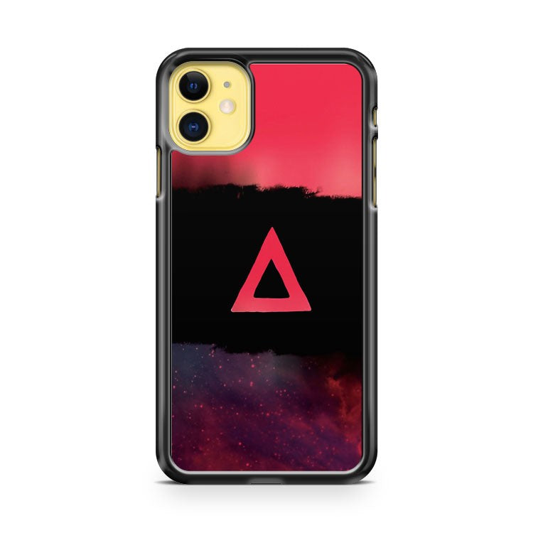 Galaxy Triangle Tricolor iPhone 11 Case Cover