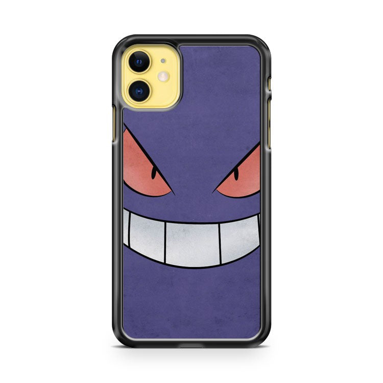 Gengar Minimalist iPhone 11 Case Cover