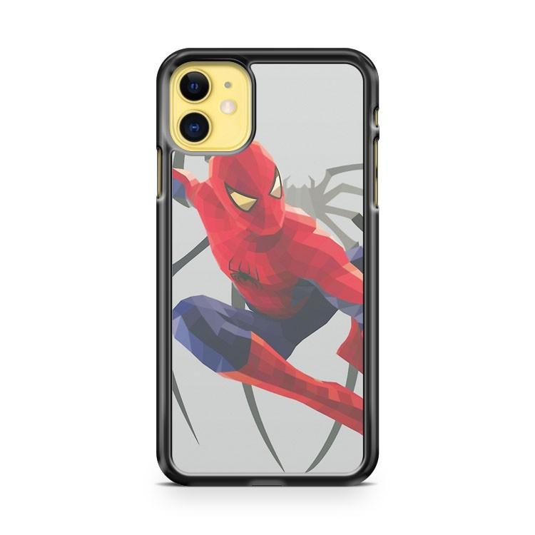 Geometric Spiderman iPhone 11 Case Cover
