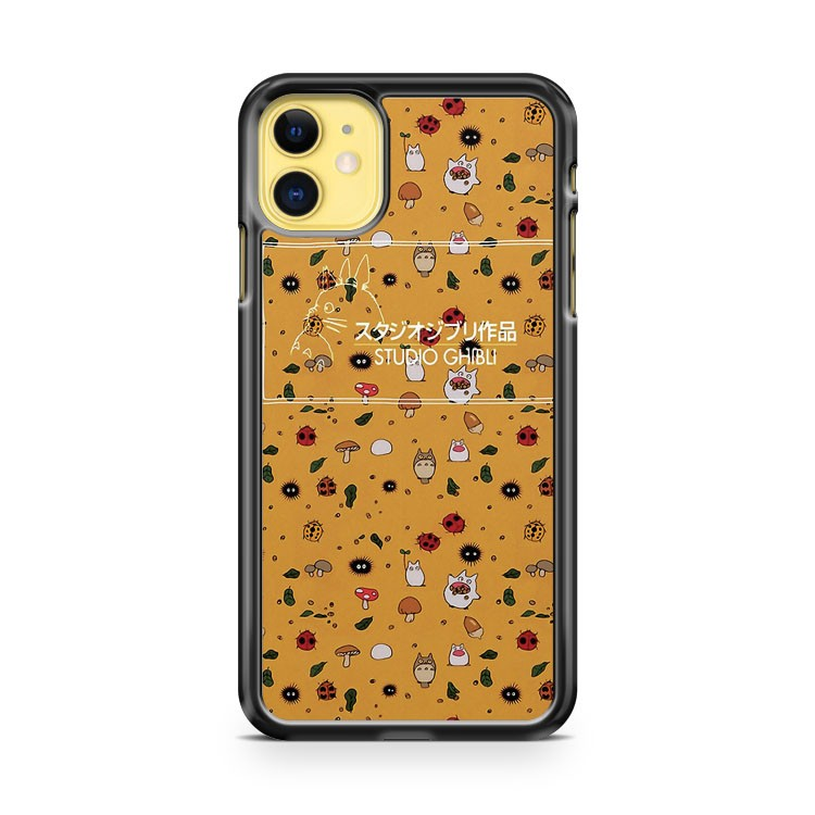 Ghibli Pattern iPhone 11 Case Cover