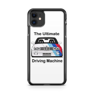 1986 Bmw M3 E30 The Ultimate Driving Machine iPhone 11 Case Cover | Overkill Inc.