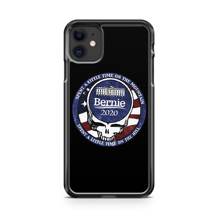 2020 Bernie Sanders The Grateful Dead Burlington Vermont 802 iPhone 11 Case Cover | Overkill Inc.