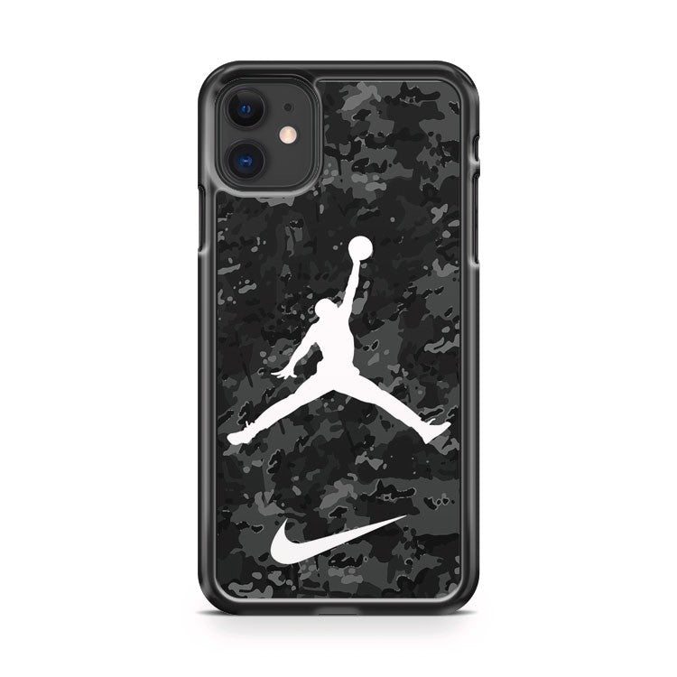 Air Jordan Jump Nike Camo iPhone 11 Case Cover | Overkill Inc.