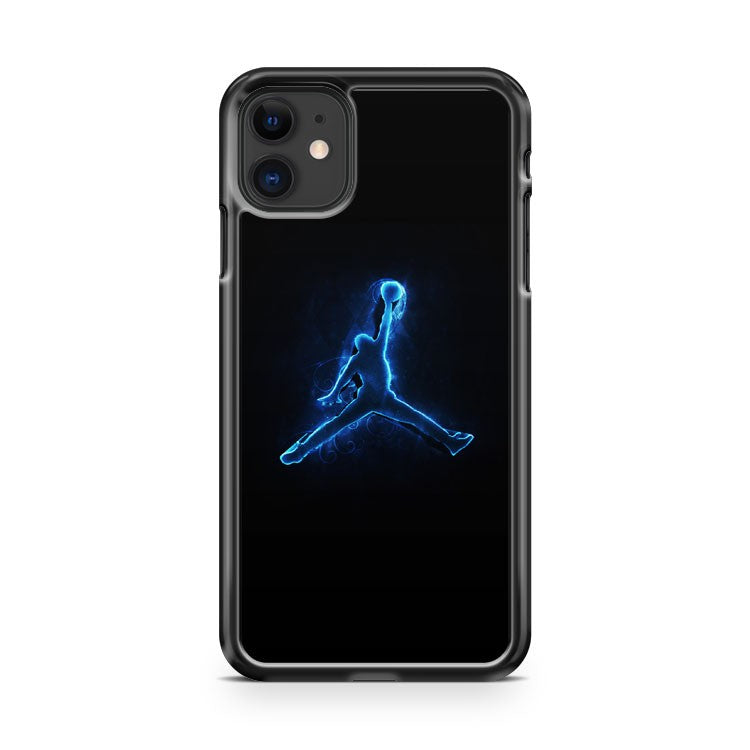 Air Jordan Neon Light iPhone 11 Case Cover | Overkill Inc.