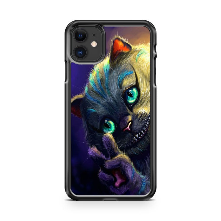 Alice In Wonderland Cheshire Cat iPhone 11 Case Cover | Overkill Inc.